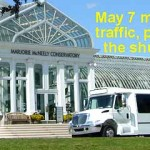May 7 Como Shuttle bus meting