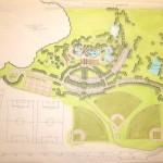 Como Pool site plan